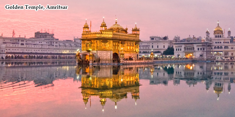 Golden Temple in Amritsar Tour